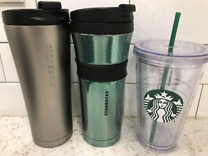 Starbucks travel mugs