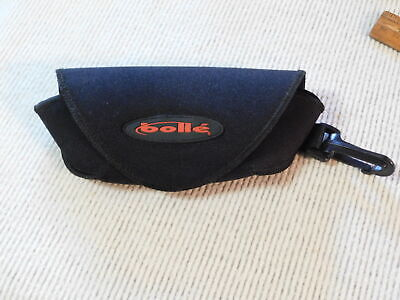 BOLLE Glasses Case soft clip-on Sections multiple lenses w cleaning cloth (Multiple Glasses Case)