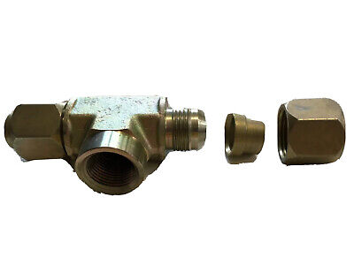 Parker Hydraulic Fittings Tee 6 Pack