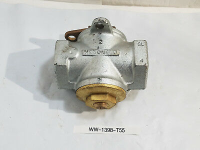 New Mcdonald 2 Tamper - Proof Gas Meter Valve 175