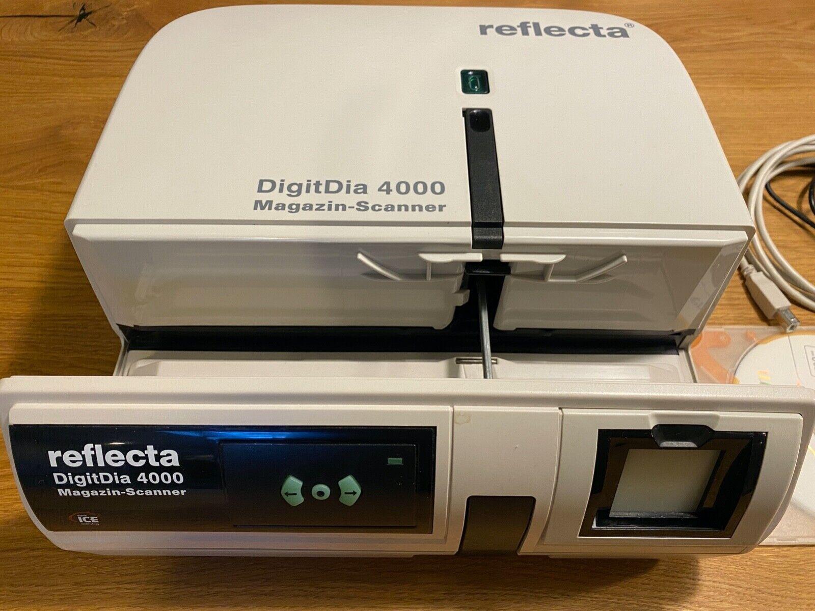 Reflecta DigitDia 4000 Diascanner Magazinscanner USB Firewire Mac Windows