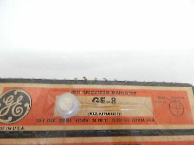 Ge-8 Ge Original Npn Germanium Transistor To-5 Gold Leads