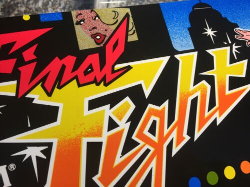 Final Fight Arcade Marquee 26