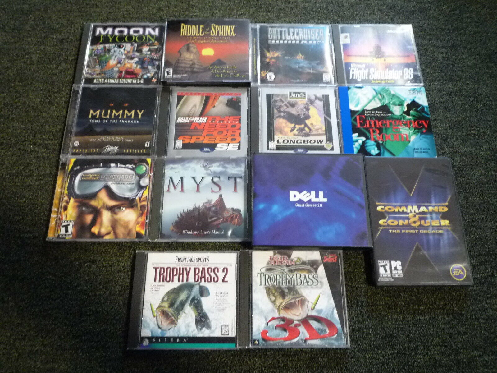 Computer Games - Lot of 22 PC Computer Video Games