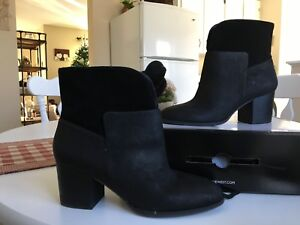 New Nine West Womens Leather Boots Size 10