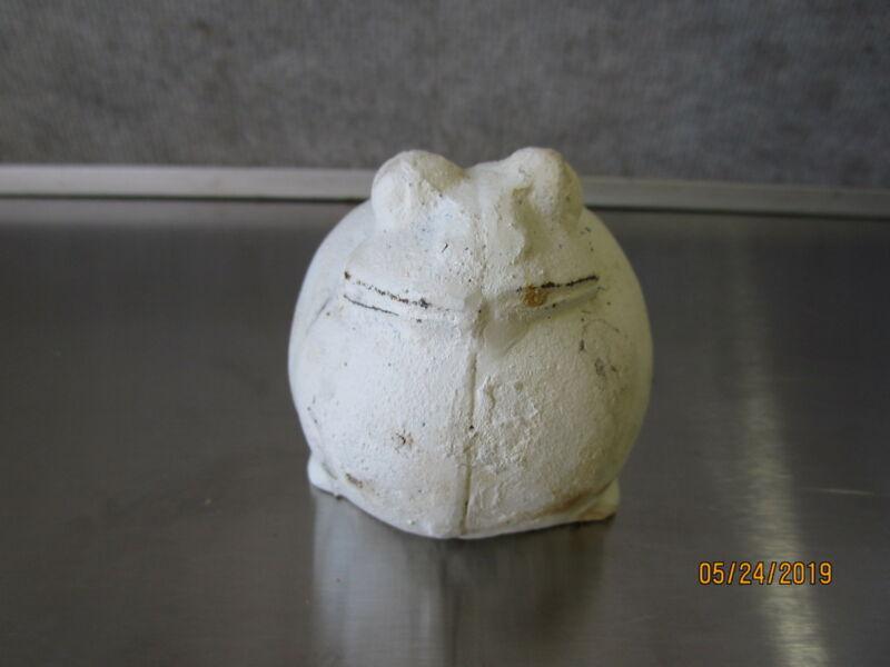 Cast Iron Frog Decor