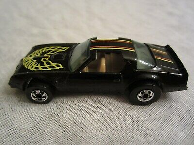 Hot Wheels Hot Bird Trans Am - Black - Blackwall Tires - Silver Rims