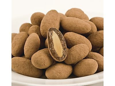 SweetGourmet Cocoa Dusted Almonds (Dry Roasted Nuts) - 15 Lb FREE SHIPPING!