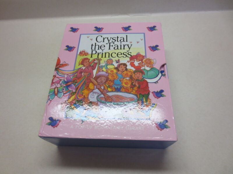 Crystal the Fairy Princess A Pop-Up Book Fairy Library books 1 - 4 hardcovers