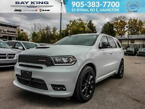 2018 Dodge Durango R/T, HEATED SEATS, SUNROOF, BLIND SPOT, BACK
