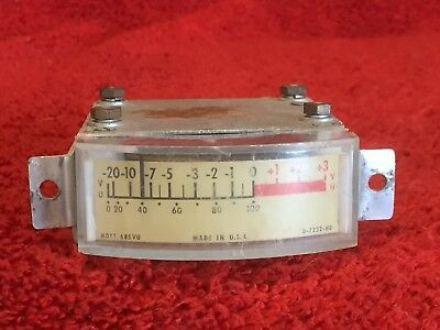 Hoyt Vintage Audio 2 14 Vu Meter Model 685 Vu Pn D-7232-h0