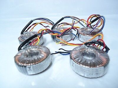 Lot Of 5 Vpt30-1670 Triad Magnetics Power Toroidal Transformers Great Deal