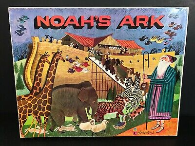 Noah's Arch Playset Colorforms Made in the USA 1970's