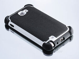 New Heavy Hybrid Rugged Hard Case Cover For Samsung Galaxy NOTE I717 N7000 I9220