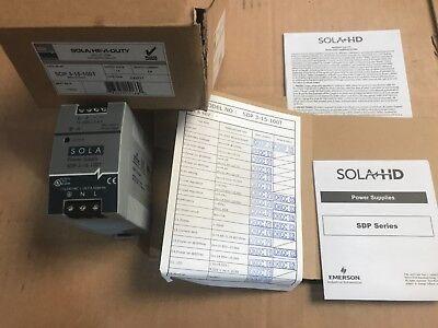 New 4 Sola Hevi-duty Sdp 3-15-100t 15 Vdc 3.4 Amp Power Supply Sdp315100t