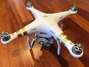 DJI Phantom 3 Professional 4K with Extra Battery and Backpack Melbourne CBD Melbourne City Preview