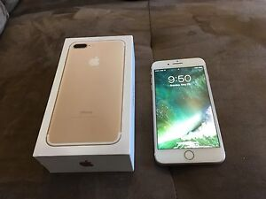 Sell/trade Gold 128gb iPhone 7 plus