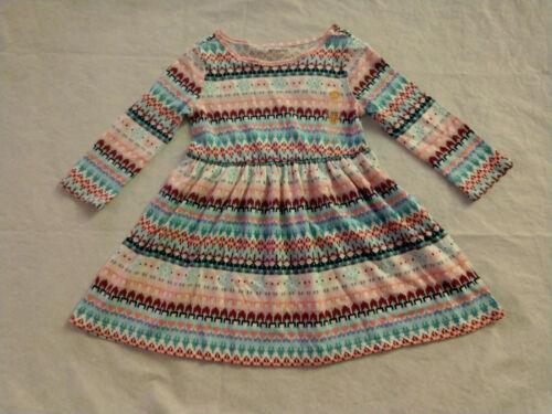 NWT Gymboree Kitty Cat Snowflake Fair Isle Knit Dress Baby Toddler Girl