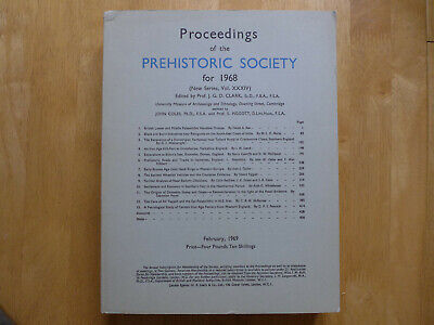 Proceedings Of The Prehistoric Society 1968