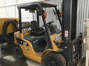 CATERPILLAR 25 FORKLIFT-AUCTION-LOW HOURS-2007. Derwent Park Glenorchy Area Preview