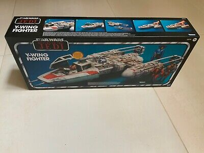 Star Wars TVC The Vintage Collection Return Of the Jedi Y-Wing Fighter Mint Cond