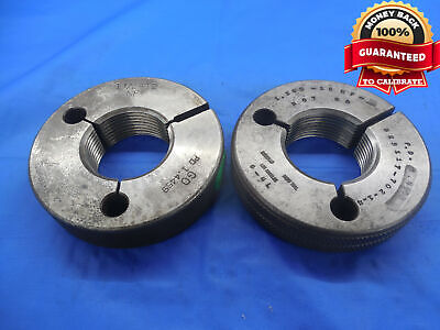 Budget 1 12 12 Nf 2 Thread Ring Gages 1.5 Go No Go P.d.s 1.4459 1.4403