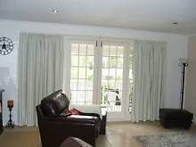 2 Pairs of Block Out Curtains & Tracks Mona Vale Pittwater Area Preview