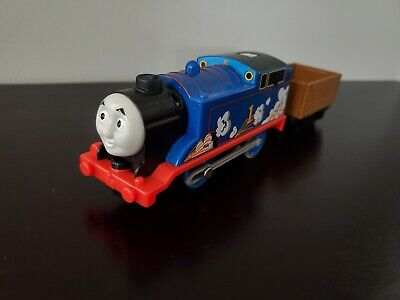 Thomas & Friends Trackmaster Motorized Real Steam Thomas Engine & Tender Works!