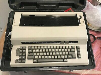 Sears Communicator Electric Typewriter 2 With Case