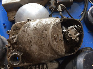 1973-1980 Yamaha MX80 Right Engine Clutch Cover