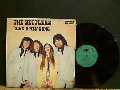THE SETTLERS  Sing A New Song   LP   Jesus Xian Myrrh label    GREAT !