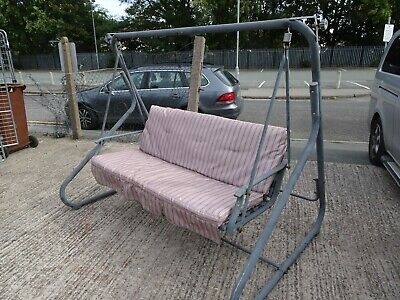 Garden Patio 3 Seater Swing Chair Used