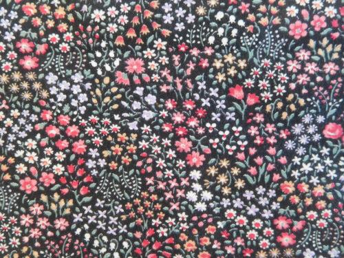 "3 Yards yds tiny 1/8""-1/4"" MILLEFIORI style flower print cotton fabric VIP OOP"