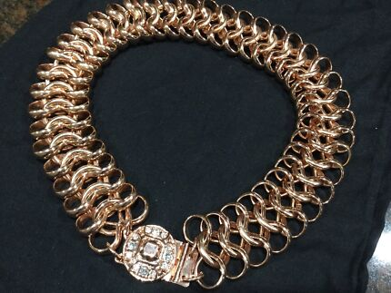 Mimco rose gold necklace