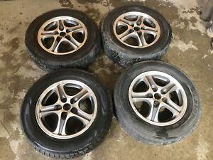 mags enkei 16 pouces 5x114.3 + pneus d'hiver!
