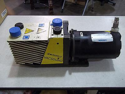 Galileo Rotary Vane Vacuum Pump D12 34hp Tp Vacsound