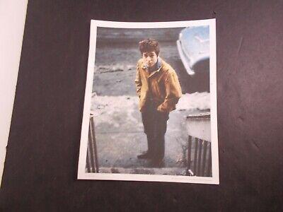 DFGH       Bob Dylan  Promo Photograph- 8 x 10  full color-Columbia 2009 -8 x10