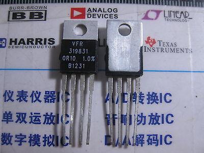 1x 319831 0r10 1.0 Vishay Foil Resistors Y09260r10000f0l