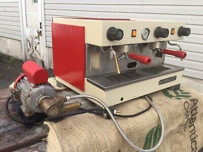 Rancilio S10 2 Group Commercial Espresso Machine Semi Automatic