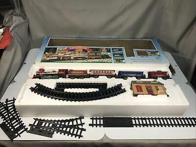 Dickensville collectables train set new in box. New Bright