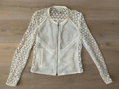 Lovely womens designer lace jacket from IRO, size 40 (fits 10), great condition