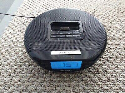 MEMOREX IPOD DOCKING WITH ALARM CLOCK & FM RADIO