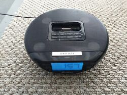 MEMOREX IPOD DOCKING WITH ALARM CLOCK & FM RADIO