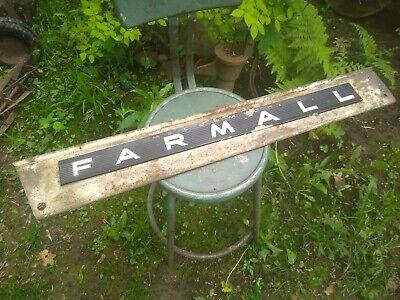 International Ih Farmall Tractor Side Hood Panel 706 756 806 856 1206 1256