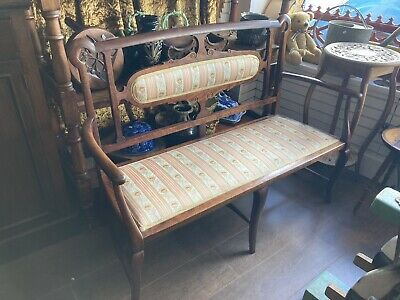 Edwardian Settee, Love Seat, Two Seater Chair