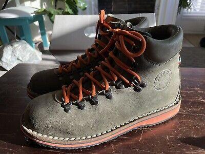 Diemme Roccia Vet Suede Hiker Boot Men's Size EUR 41 / US 8 - Made In Italy $365