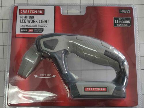 44933 Craftsman Pivoting LED Work Light Bolt On 20-Volt Max