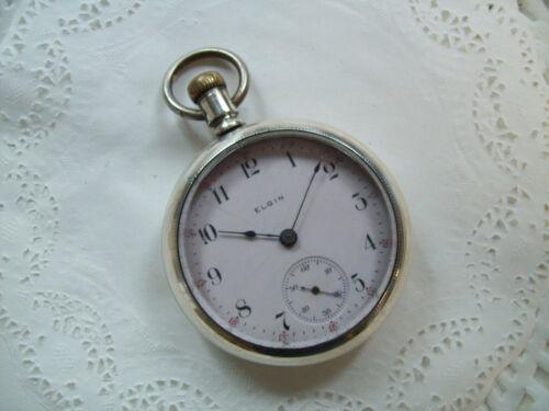 18 Size Elgin Pocket Watch