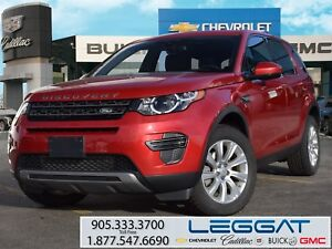 2016 Land Rover Discovery Sport SE/LEATHER/SUNROOF