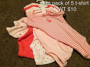 NEW with tags clothes and used shoes